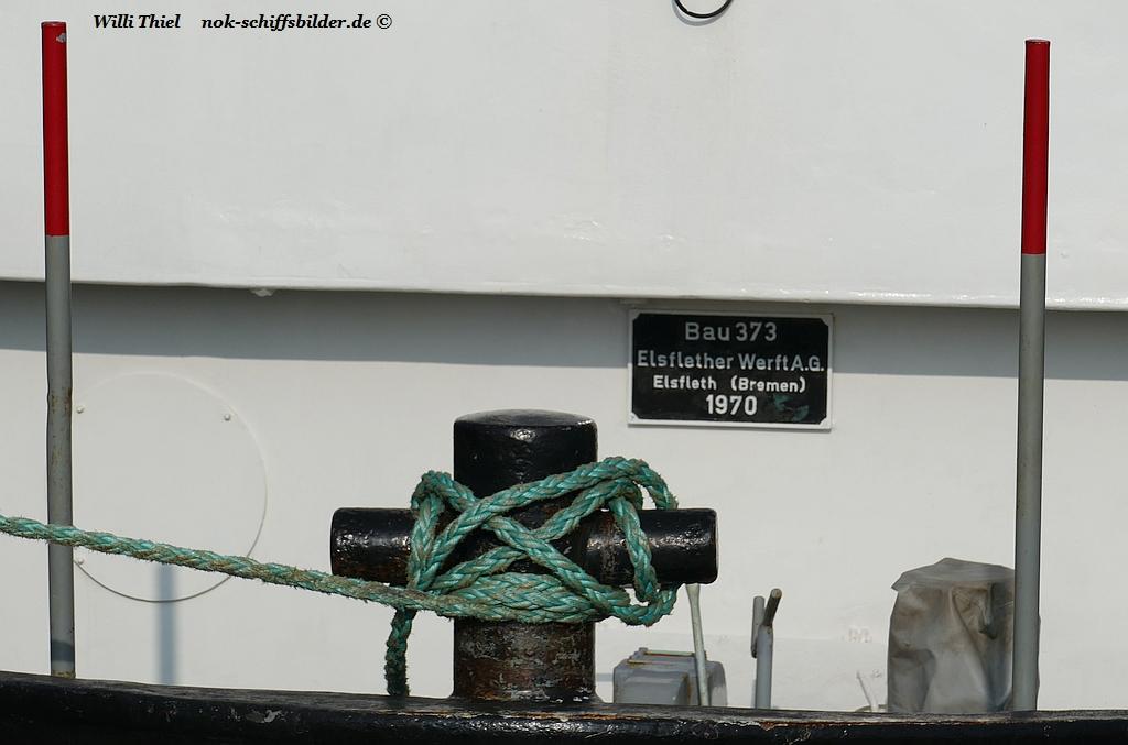 EMS PULL - Werftschild
