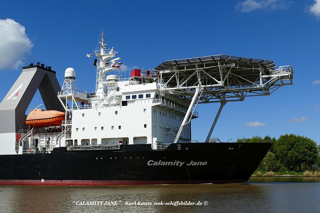 CALAMITY JANE- Vorschiff