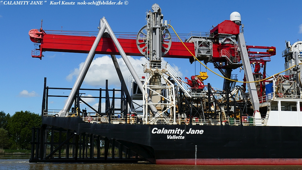 CALAMITY JANE- Achterschiff
