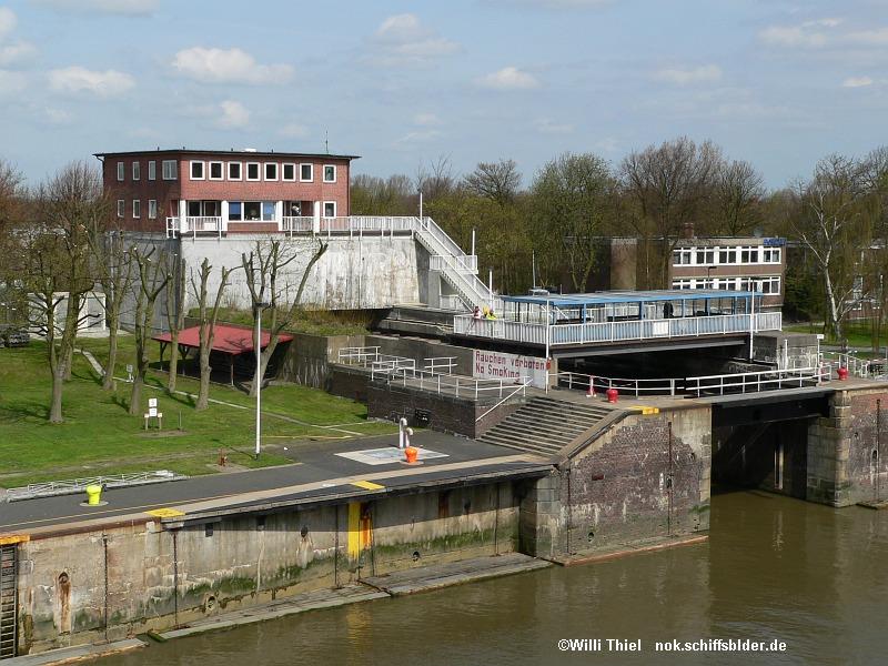 Schleuse Brunsbüttel Plattform