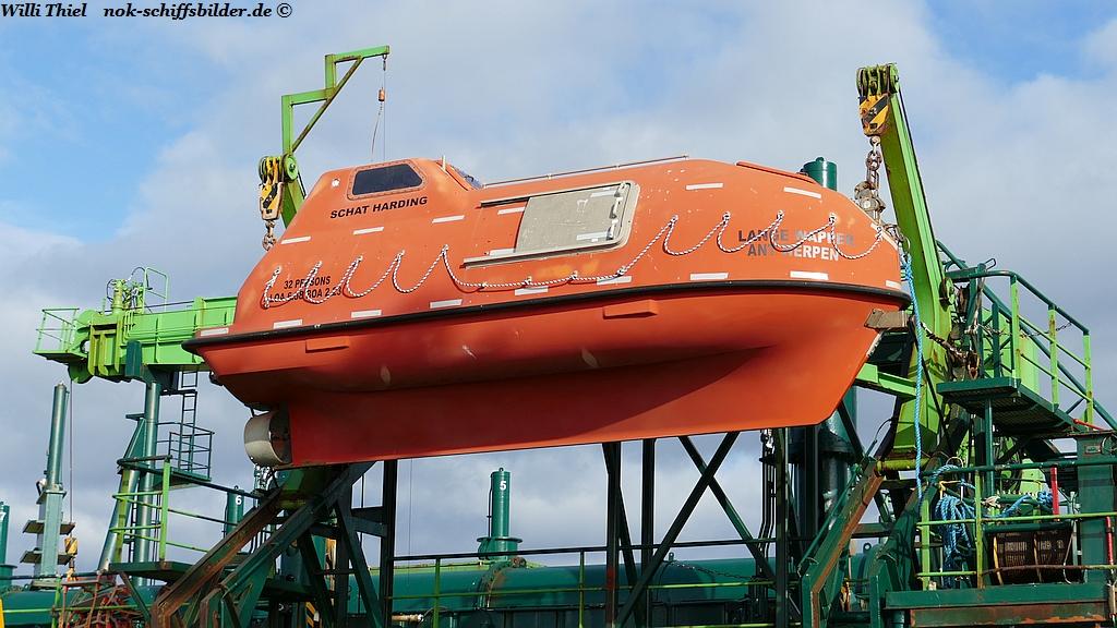 LANGE WAPPER - Rettungsboot