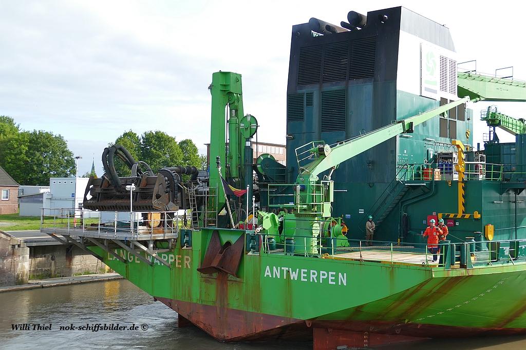 LANGE WAPPER -Heck,Achterschiff