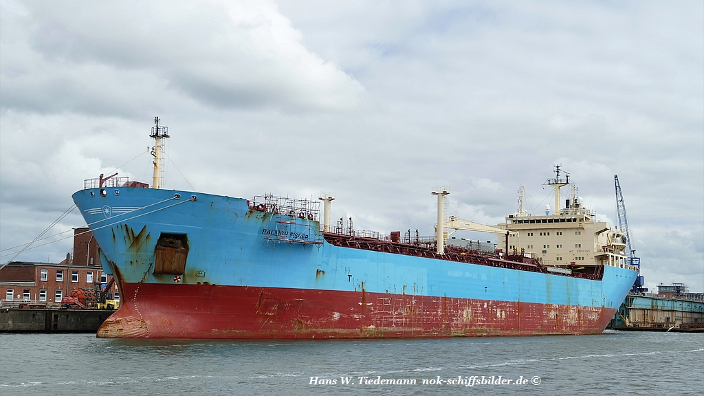 MAERSK RALEIGH ->  RALEIGH FISHER