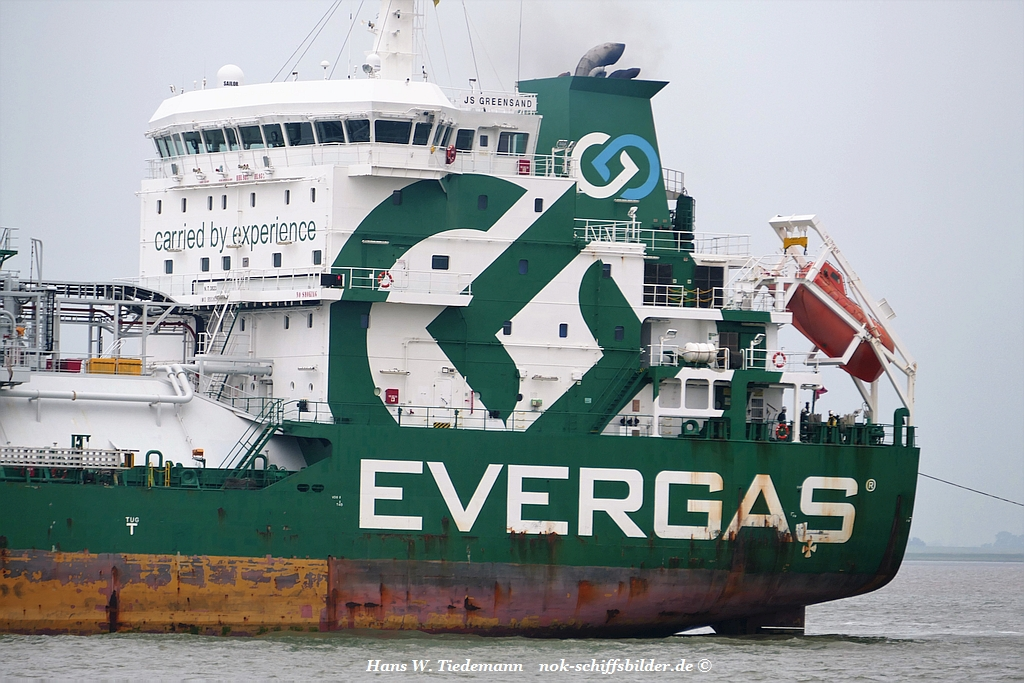 JS GREENSAND-E3 POOL A/S EVERGAS SHIP MANAGEMENT
