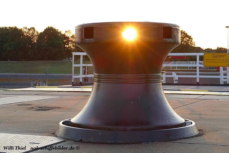 Spillkopf mit Sonnenantrieb ....