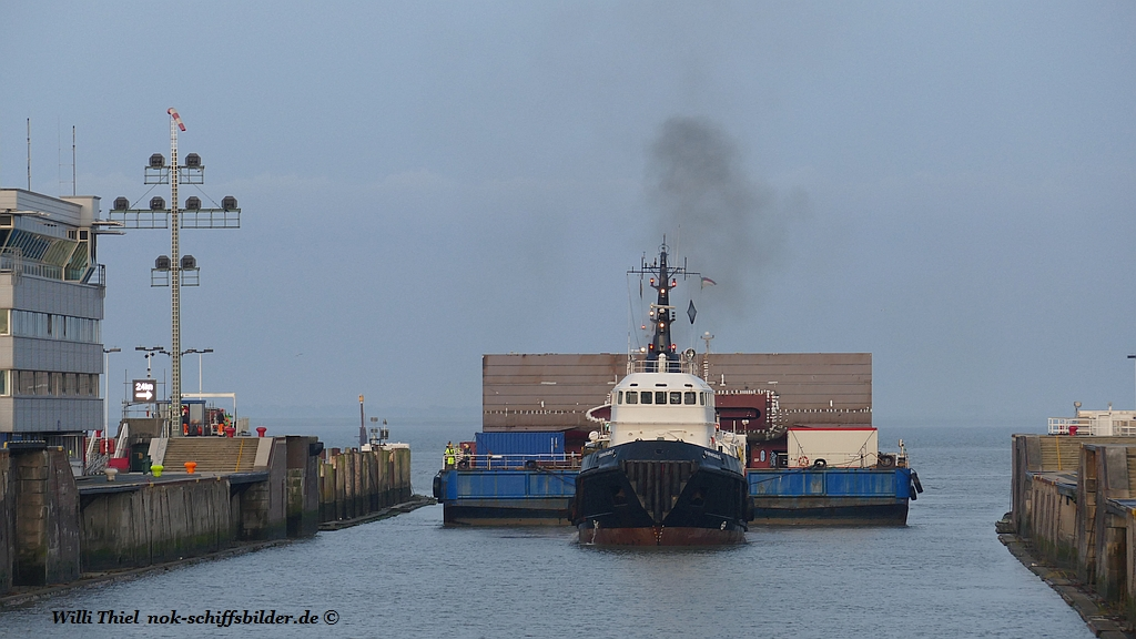 FORMIDABLE with Barge