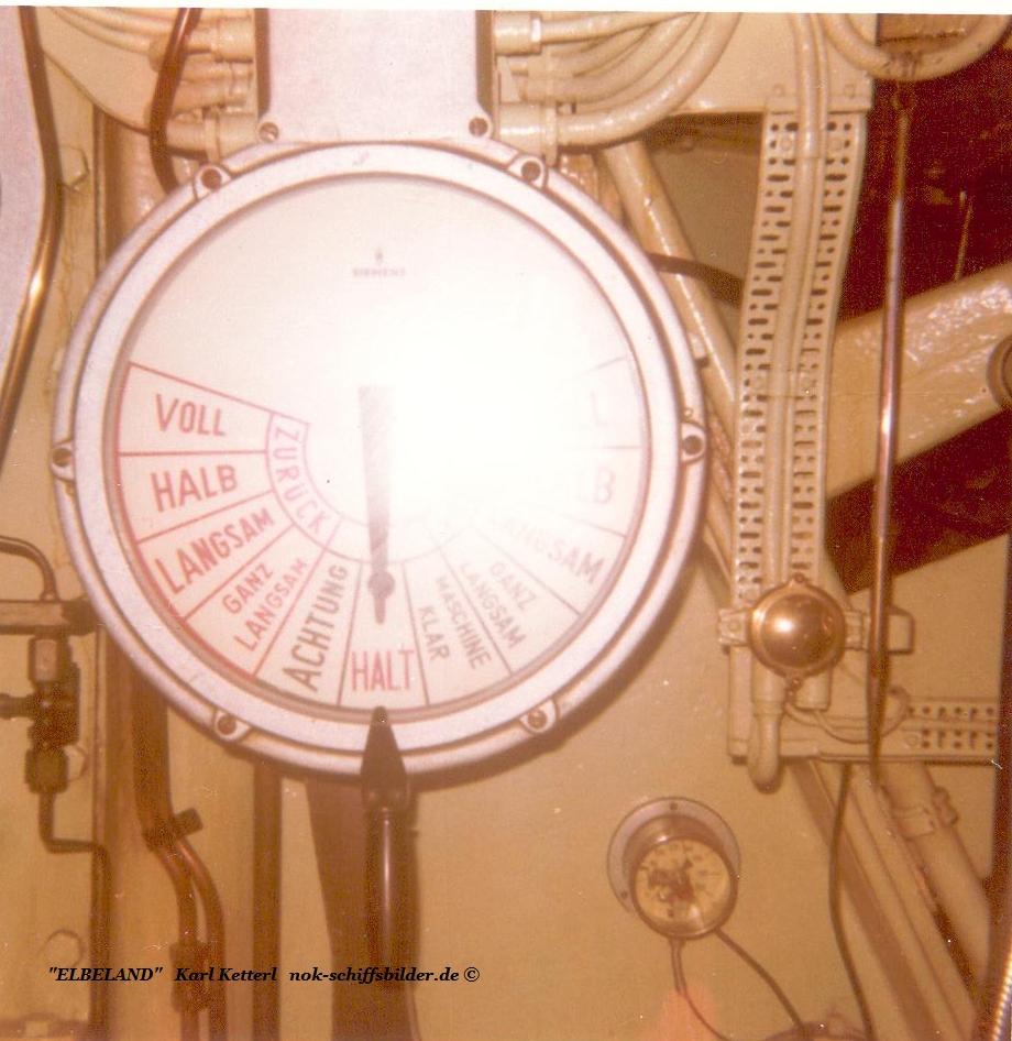 ELBELAND -Maschinentelegraf