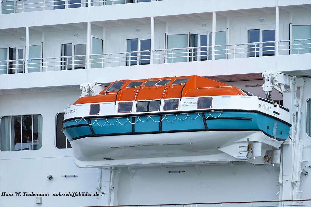 AMERA-  Rettungsboote