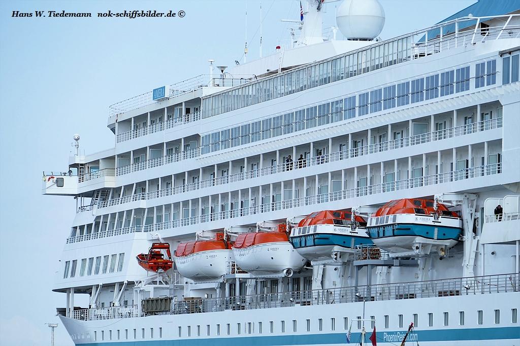 AMERA- Vorschiff