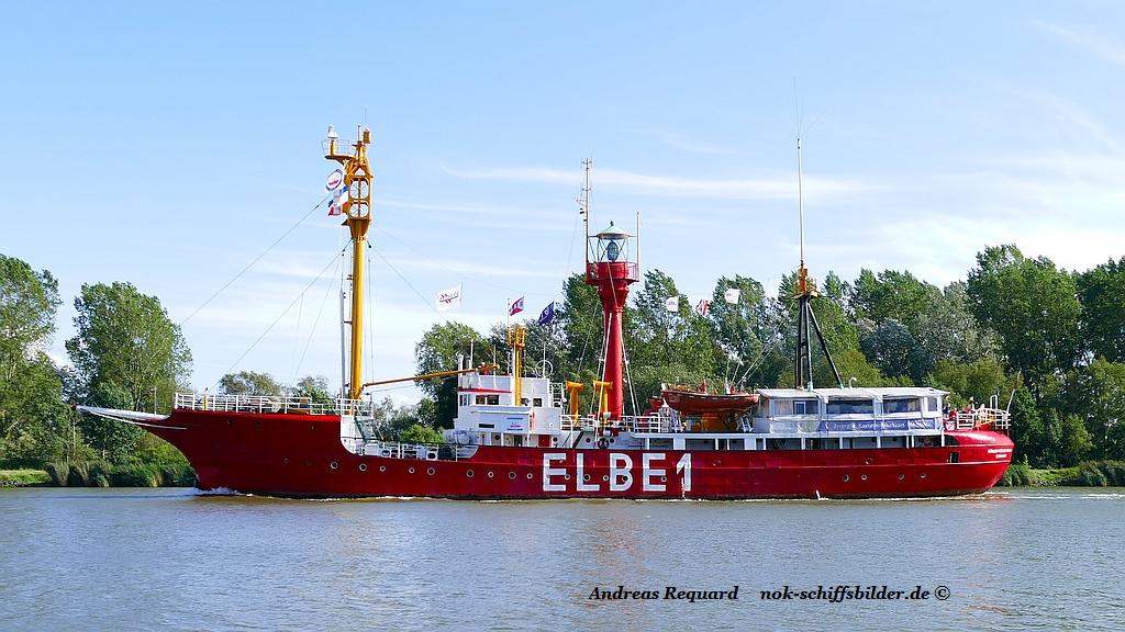 BÜRGERMEISTER O´SWALD  - Feuerschiff ELBE 1