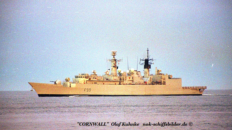 CORNWALL F 99