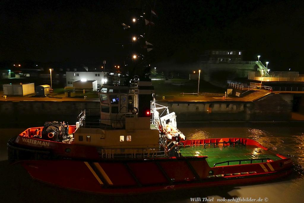 WATERMAN mit Barge WB 5