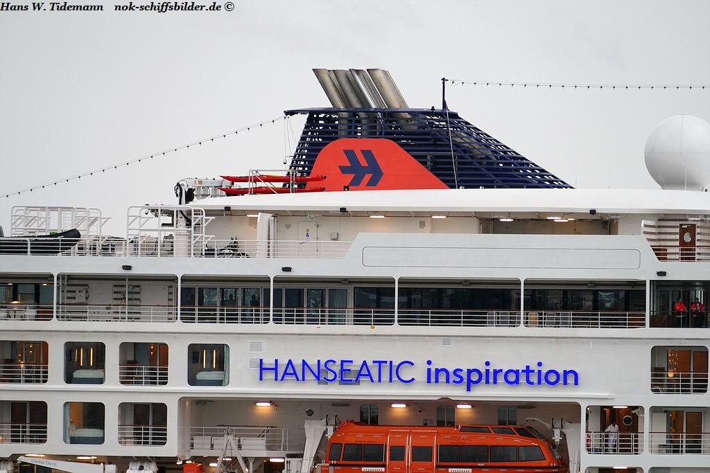 HANSEATIC INSPIRATION- HAPAG-LLOYD CRUISESHIP