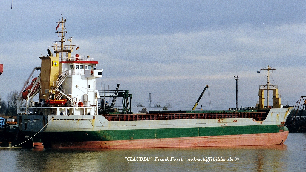 Claudia (161199) HOOGEZAND -  Damen shipyard, Foxhol,.jpg
