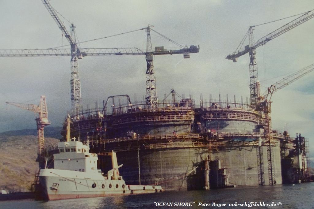 OCEAN SHORE - Ninian Central Platform