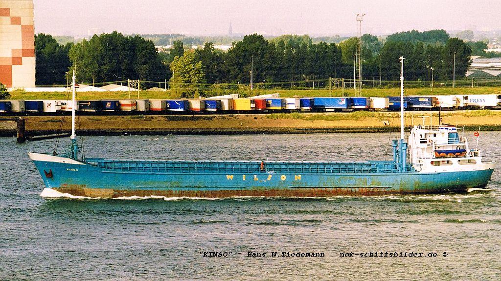 Kinso, MLT - 14.05.99 off Hoek van Holland