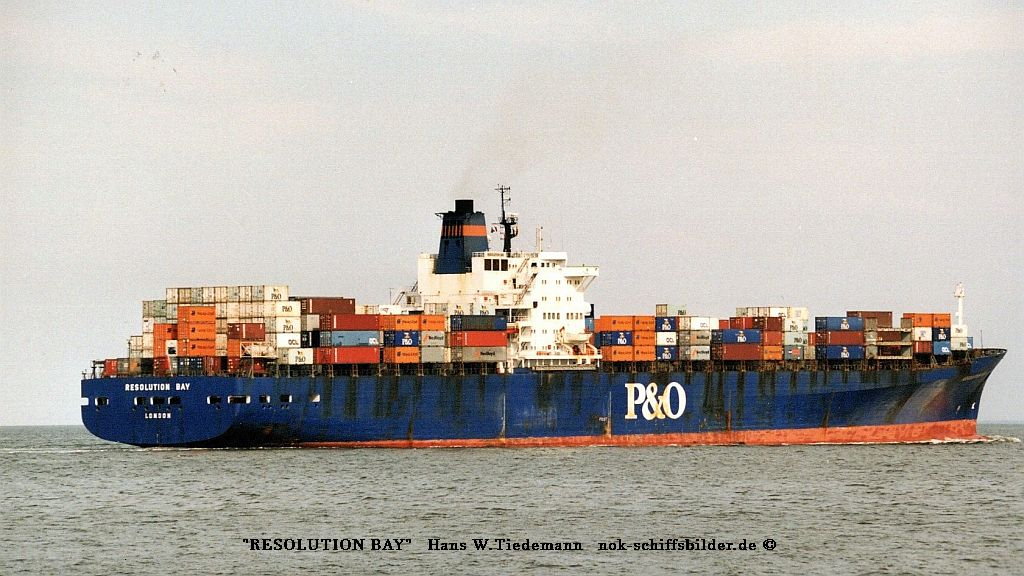 Resolution Bay, GBR, IMO 7417575 - 26.07.98 Cux