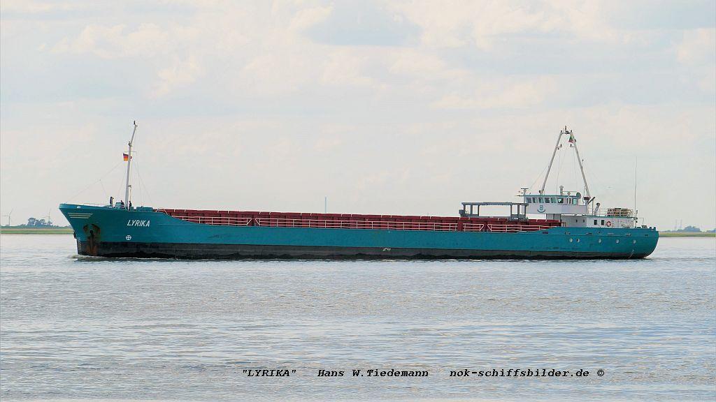 Lyrika, LTU, Baltnautic Shipg., Klaipeda - Bhv 23.06.2019