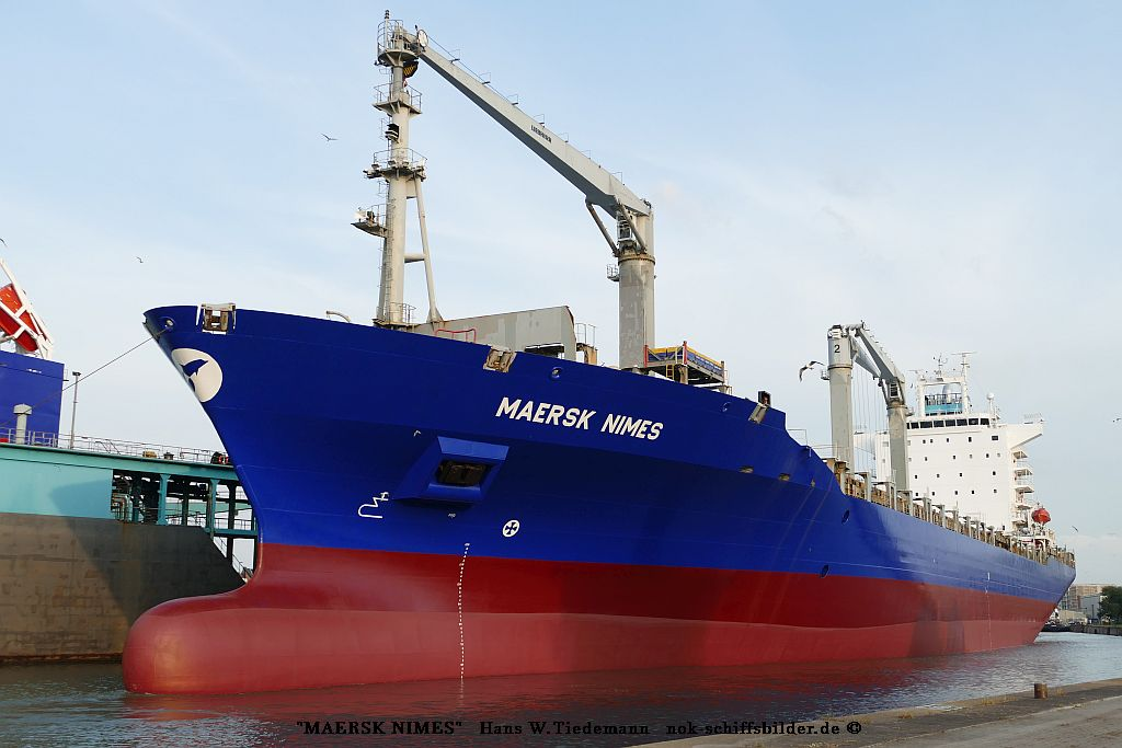 Maersk Nimes, HKG - Kaiserh o6.08.2019