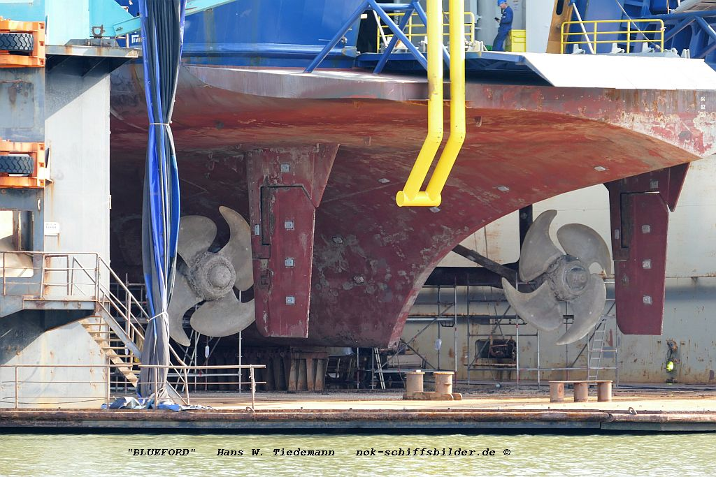 Bluefort, MHL, IMO 7816874 - Dock V