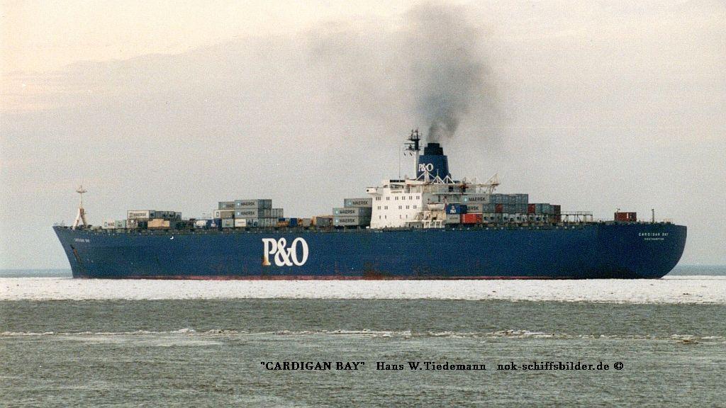 Cardigan Bay, GBR, Southampton - 24.02.96 Elbe