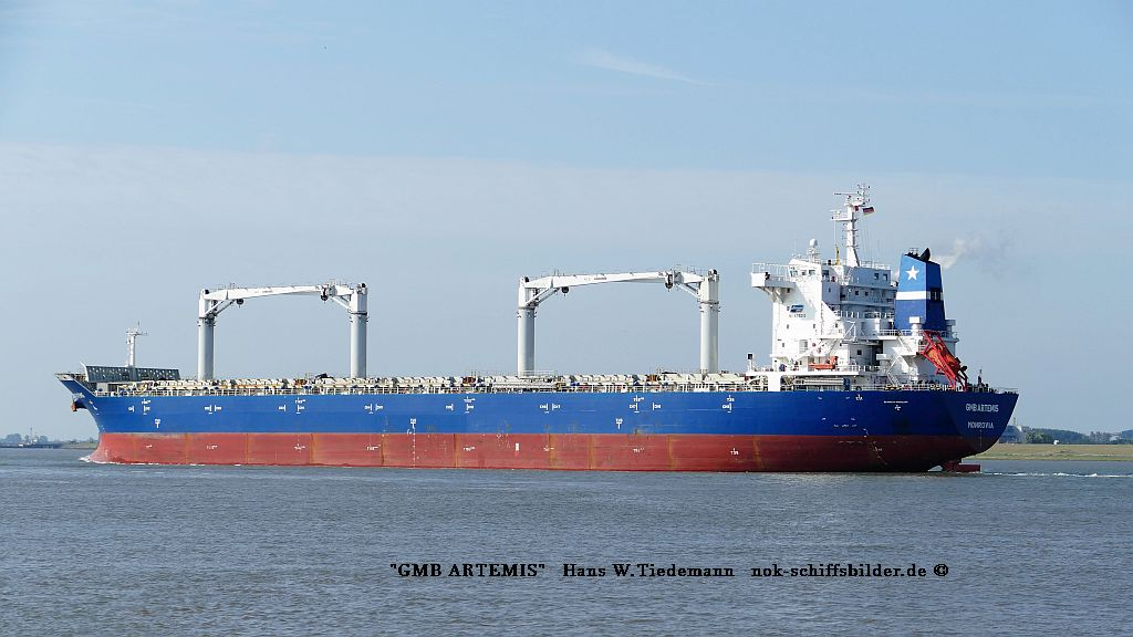 GMB Artemis, LBR, IMO 9419242 - Weser  28.07.2019
