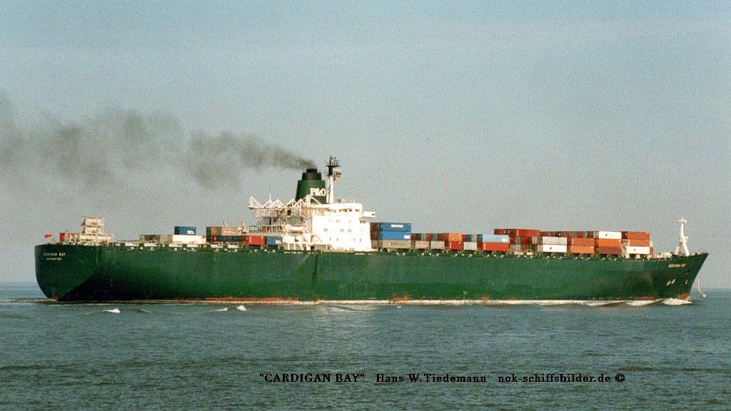 Cardigan Bay, GBR, -72, 56.822  gt - Elbe