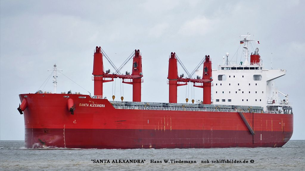 Santa Alexandra, PAN, -18, 35.832 gt - Bhv 10.08.2019