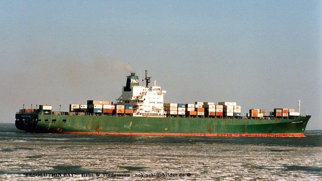 Resolution Bay - 07.03.87 Elbe