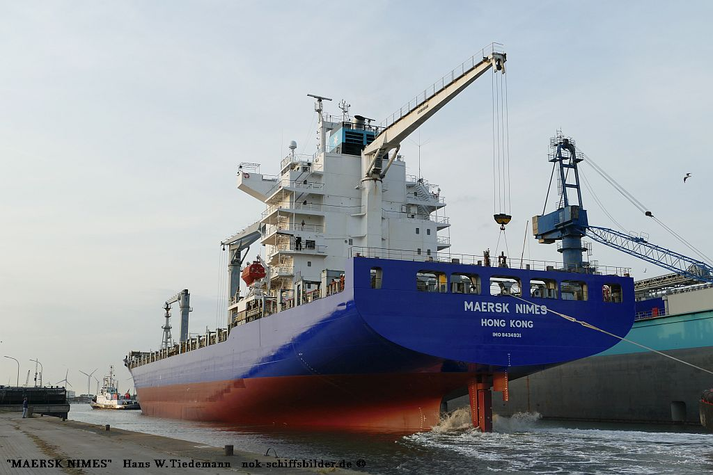 Maersk Nimes, HKG - Kaiserh o6.08.2019 s