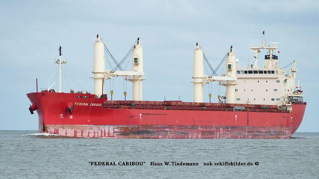 Federal Caribou, MHL - Weser7 10.07.2019