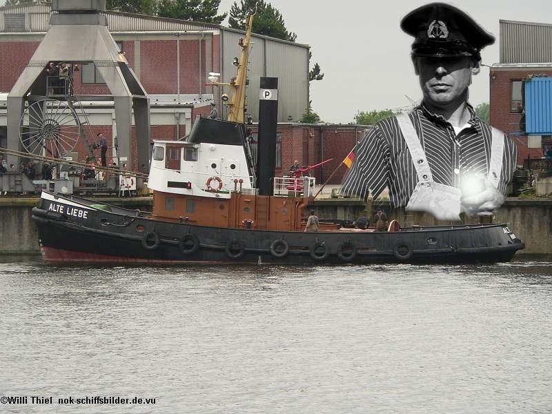 Kaptain & sein Schiff