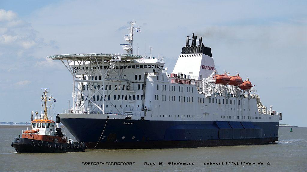 Bluefort, MHL, -79, 17.914 gt - Weser 11.06.2019