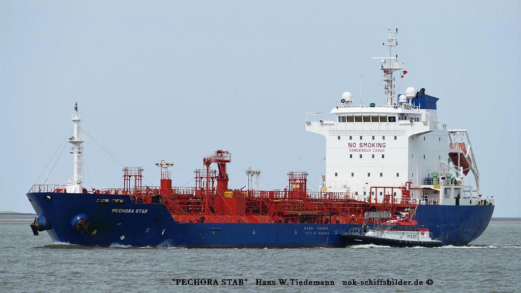 Pechora Star, MLT, CST Schiff. GmbH, Hamburg - Bhv  20.07.2019
