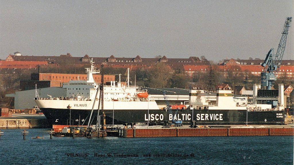 Vilnius, LTU, Klaipeda, IMO 8311900 - 09.03.96 Kiel