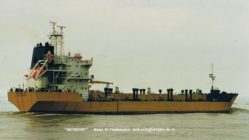 Mitrope, MLT, Schwefeltanker - 08.04.00