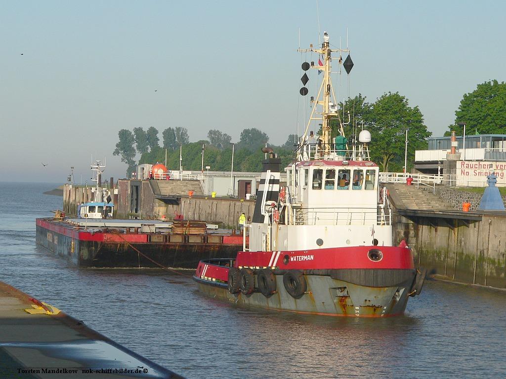 WATERMAN mit Barge I & GOLIATH