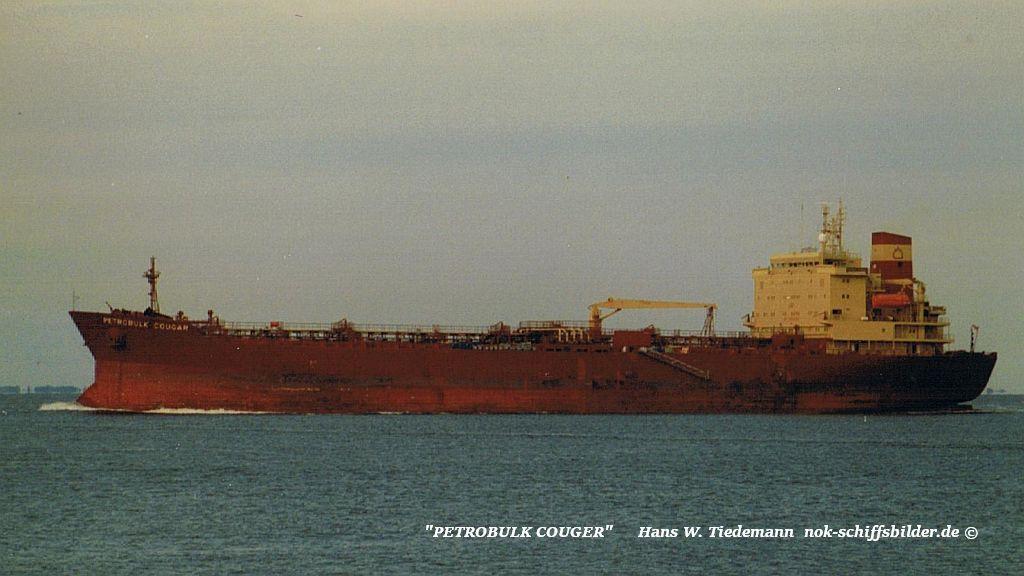 Petrobulk Cougar, LBR - 05.07.95 Elbe