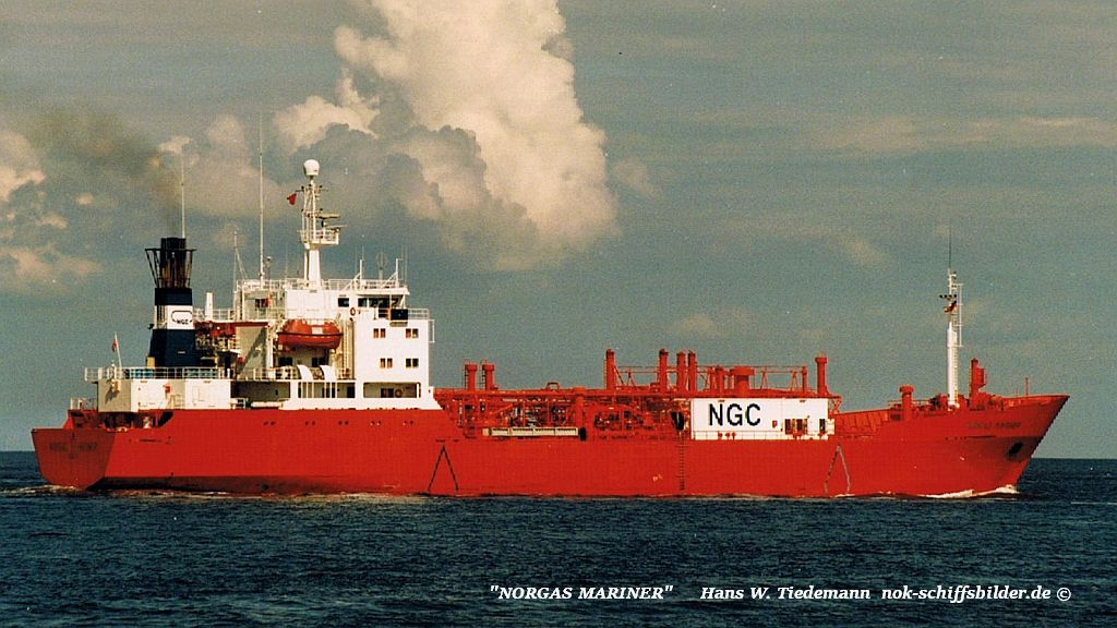 Norgas Mariner, NIS, Oslo - 07.07.96 Cux