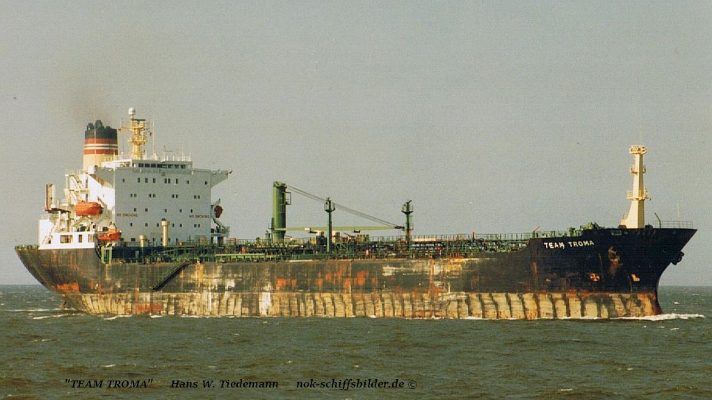 Team Troma, NIS - 06.08.95 Elbe