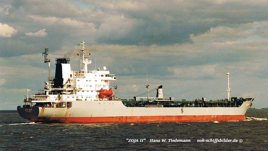 Zoja II, CYP - 07.09.96 Elbe