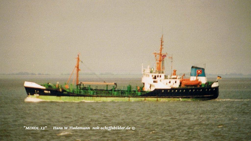 Minol 13, DEU, Rostock - 02.08.92 SMD