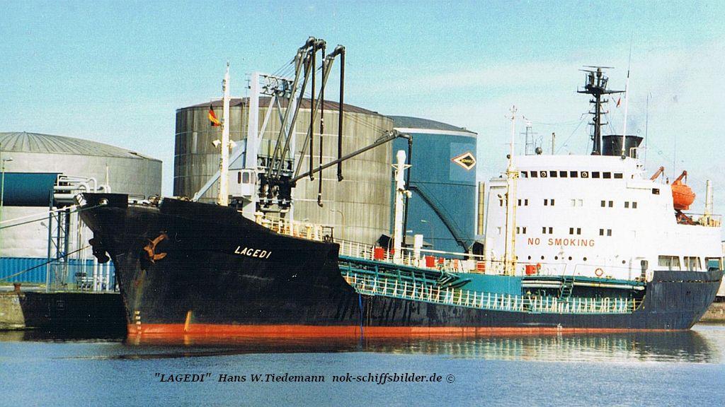 Lagedi, EST, Tallinn - 16.05.95 Bhv Ölpier