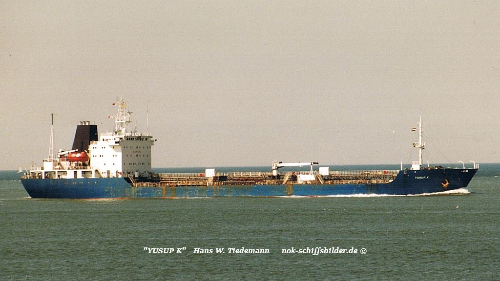 Yusup K, MLT - 05.08.96 Maasvlakte