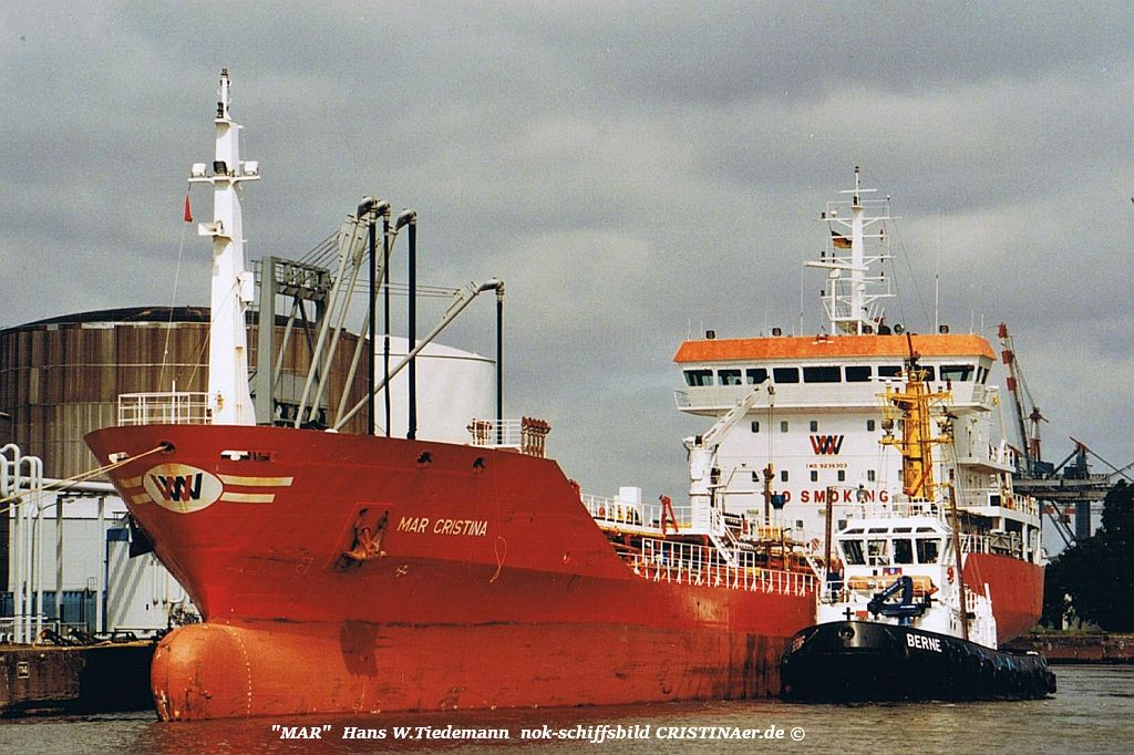 Mar Cristina, CNI - 24.07.05 Bhv