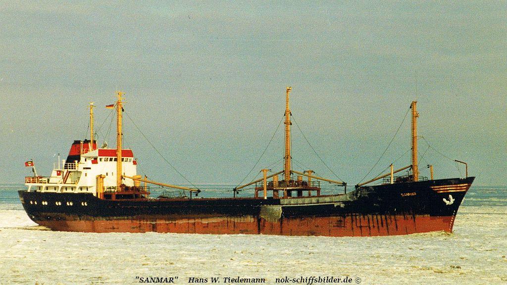 Sanmar, ATG - 28.01.96 Elbe