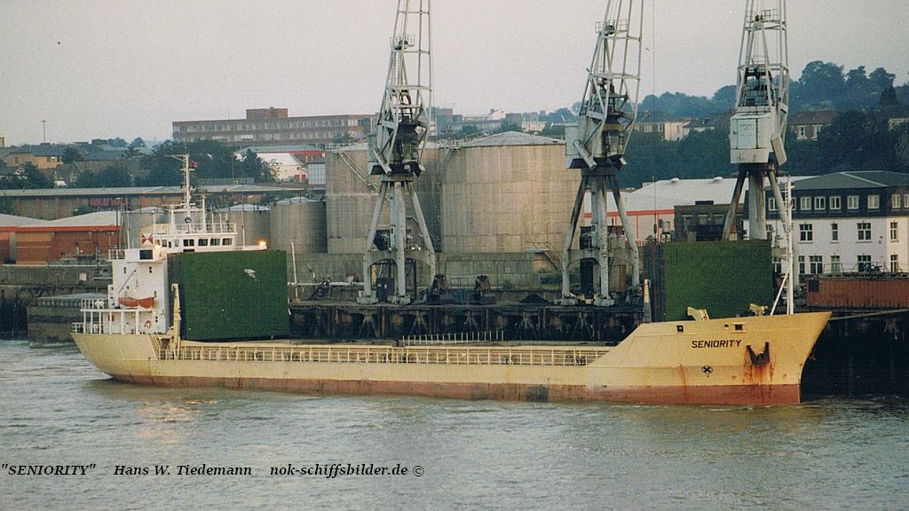 Seniority, GBR - 19.08.97 River Thames