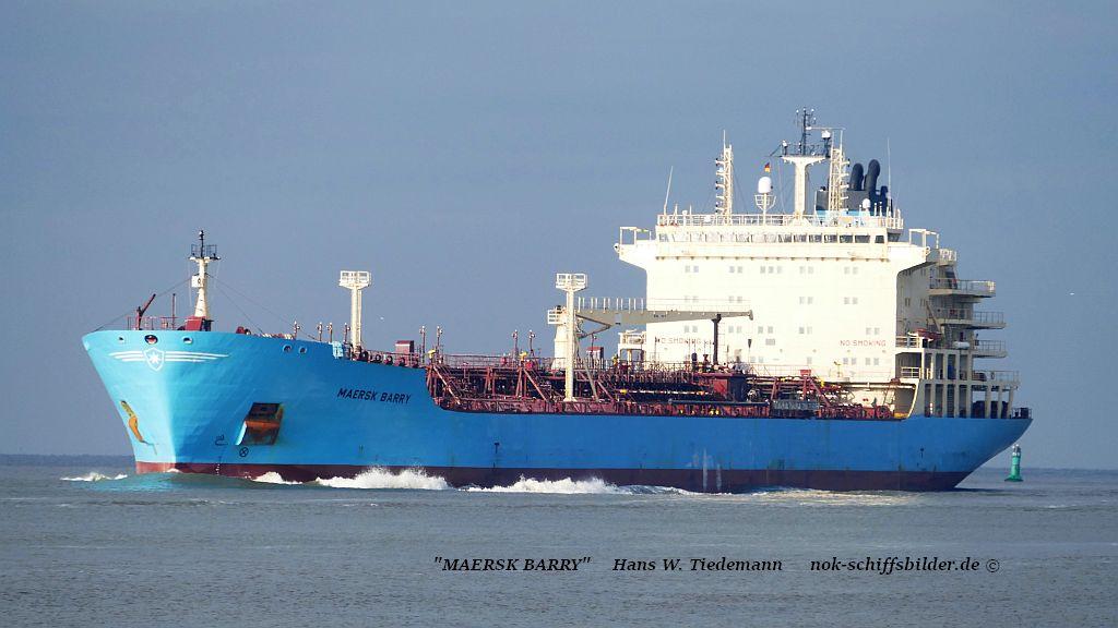 Maersk Barry, DIS, -06, 29.040 dwt - Bhv 09.11.2019