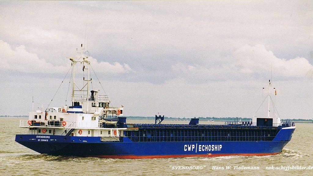 Svendborg, ATG, St. John's - 02.08.98 Cux