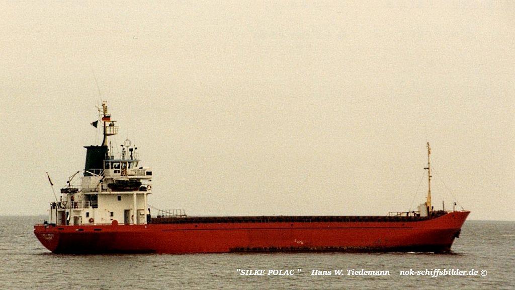 Silke Polac, DNK, Faaborg - 11.05.89 Elbe